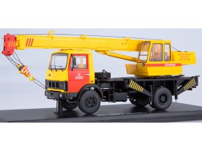 "Start Scale Models - Autojeřáb KS-3577 - MAZ-5337 (stará verze), Mosmetro"", Integrovaný záchranný systém, 1/43"
