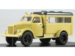 Start Scale Models - PAZ-653, Ambulance, 1/43