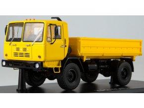 """Start Scale Models - KAZ-4540, """"Kolhida"""" zemědělský sklápěč, žlutá, 1/43"""