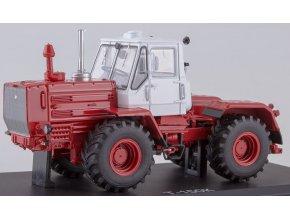 Start Scale Models - Belarus/Harkov T-150K, traktor, (bílo-červený), 1/43
