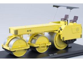 Start Scale Models - DU-49, silniční válec, žlutý, 1/43
