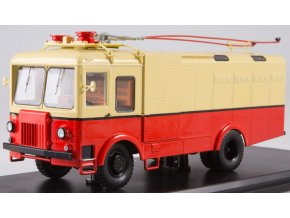 Start Scale Models - TG-3, nákladní trolejbus, červeno-béžový, 1/43