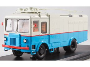 Start Scale Models - TG-3, nákladní trolejbus, bílá-modrá, 1/43