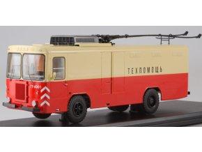 Start Scale Models - KTG-1, nákladní trolejbus, červená-béžová, 1/43