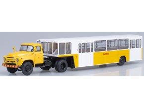 Start Scale Models - ZIL-130V1, letištní autobusový přívěs APPA-4 Vaskovo, 1/43