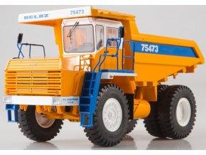 64104 start scale models belaz 75473 sklapecka zluto modra 1 43