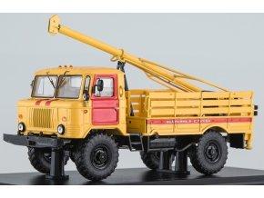 Start Scale Models - GAZ-66 BM-302, vrtná souprava, pohotovostní služby, 1/43