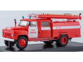 Start Scale Models - AC-30 (53A)-106A, GAZ-53A, hasiči, Spasskoe, 1/43