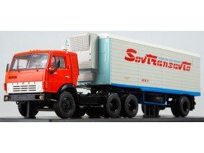"""Start Scale Models - KAMAZ-54112, nákladní s přívěsem Alka N12CH, """"Sovtransavto"""", 1/43"""