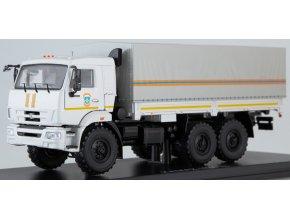 Start Scale Models - KAMAZ-43118 (facelift), valník s plachtou, MCHS, 1/43
