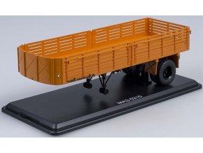 Start Scale Models - Přívěs MAZ-5215, oranžová, 1/43