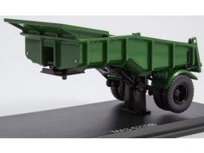 Start Scale Models - Sklápěcí přívěs MAZ-5232B, zelená, 1/43