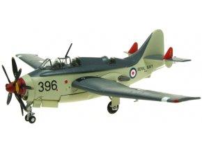 Aviation 72 - Fairey Gannet, Royal Navy, XG831, RN Culdrose, britské královské námořnictvo, 1/72