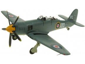 Aviation 72 - Hawker Sea Hawk, FGA.6 Royal Navy, WV908, Historic Flight, Británie, 1/72