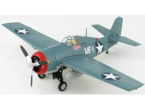 Hobbymaster - Grumman F4F-3 Wildcat, US NAVY, USMC VMF-224 Fighting Bengals, Major Robert E. Galer, Guadalcanal, 1942, 1/48