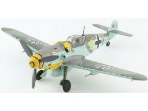 """HobbyMaster - Messerschmitt Bf-109G, Luftwaffe, """"Yellow 6"""", Ofw. Alfred Surau, 9./JG 3, Německo, 1943, 1/48"""