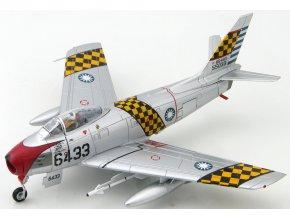 Hobbymaster - North American Sabre F-86F, ROCAF, čínské letectvo, 1st TFW, 1/72