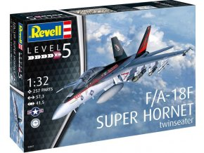 Revell - F/A-18F Super Hornet, Plastic ModelKit 03847, 1/32
