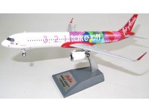 HH Models - Airbus A321-251NX, dopravce Air Asia, 1-2-3 Takeoff livery, Malajsie, 1/200