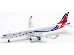 Inflight 200 - Airbus A321neo, dopravce Titan Airways / United Kingdom, Velká Británie, 1/200