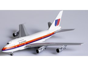 """NG Model - Boeing B747SP, dopravce United Airlines """"Saul Bass"""" livery, """"Friendship One"""", USA, 1/400"""