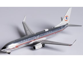 """NG Model - Boeing  B737-800, dopravce American Airlines, retro """"AstroJet"""", USA, 1/400"""