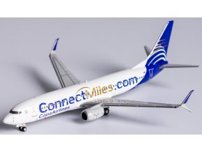 """NG Model - Boeing  B737-800, dopravce Copa Airlines, """"ConnectMiles"""" livery, Panama, 1/400"""