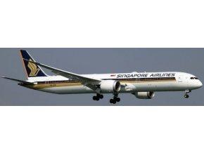 JC Wings - Boeing B787-10 Dreamliner, dopravce Singapore Airlines, klapky dolů, Singapur, 1/200