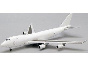 JC Wings - Boeing B747-400F, Blank - čistě bílé letadlo bez polepu, 1/400