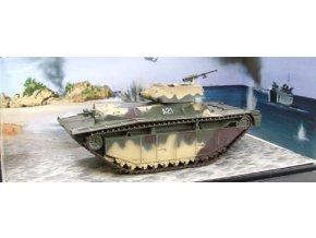 Dragon Armor - LVT(A)-4 Water Buffalo - diorama, USMC, 2. batalion obojživelných tanků, Iwo Jima, 1945, 1/72