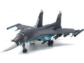 JC Wings - Suchoj Su-34 Fullback, ruské letectvo, Red 27, Hmeimim AB, Sýrie, 2015, 1/72