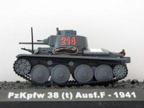 Blitz 72 - Panzer Pz.Kpfw 38t, 7.panzer divize, Rusko, 1941, 1/72