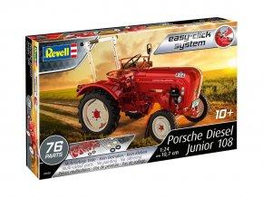 Revell - traktor Porsche Diesel Junior 108, EasyClick 07820, 1/24