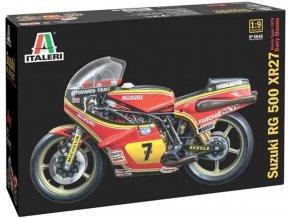 Italeri -  Suzuki RG 500 XR27 (Team Heron - Barry Sheene) 1978, Model Kit motorka 4644, 1/9