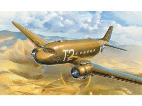 Hobby Boss - C-47A Skytrain, Model Kit 7264, 1/72
