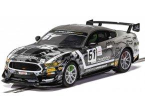 SCALEXTRIC  - Ford Mustang GT4 - Academy Motorsport 2020, Autíčko GT SCALEXTRIC C4221, 1/32