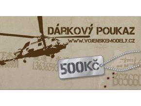 655 darkova poukazka hodnota 500 kc