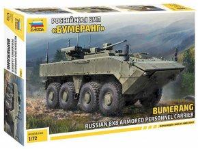 """Zvezda - BMP """"Bumerang"""" 8x8 APC, Model Kit military 5040,1/72"""