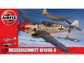 Airfix -  Messerschmitt Bf109G-6, Classic Kit A02029B, 1/72