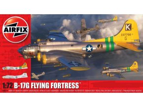 Airfix - Boeing B17G Flying Fortress, Classic Kit A08017B, 1/72