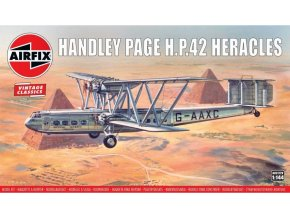 Airfix - Handley Page H.P.42 Heracles, Classic Kit VINTAGE letadlo A03172V, 1/144