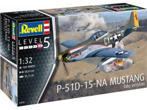Plastic ModelKit letadlo 03838 - P-51 D Mustang ( late version ) (1:32)