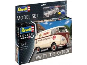 """Revell - VW T1 """"Dr. Oetker"""", ModelSet auto 67677, 1/24"""
