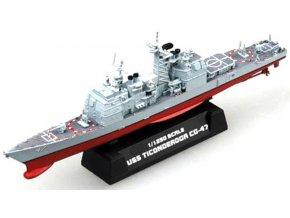 Easy Model - USS Ticonderoga, CG-47, 1/1250