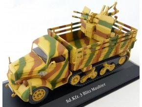 Eaglemoss - Sd.Kfz.3 Opel Maultier s Flakvierling 38, 1/43