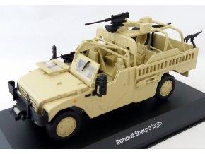 Eaglemoss - Renault Sherpa Light, francouzská armáda, 1/43