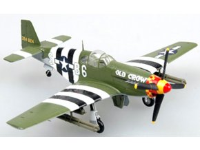 """Easy Model - North American P-51B Mustang,362th FS, Captain Clarence """"Bud""""Anderson, 1/72"""