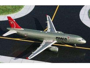 Gemini - Airbus A320-211, společnost Northwest Airlines, spojené státy, 1/400