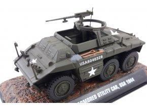 Atlas Models - M20 Armored Utility Car, 1944, 1/43