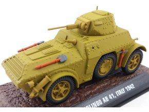 Atlas Models - Fiat-Ansaldo Autoblinda 41, 1942, 1/43